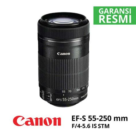 Canon 55 250 Is Stm jual lensa canon ef s 55 250mm f 4 5 6 is stm harga murah
