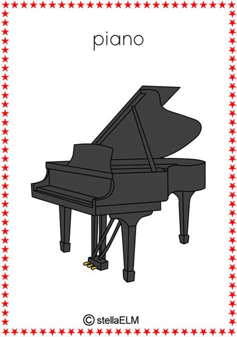 piano flashcards stellaelm flashcards musical instruments01