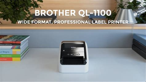 Label Pita Printer Mk Thermal ql 1110nwb wide format wireless postage barcode professional thermal label printer