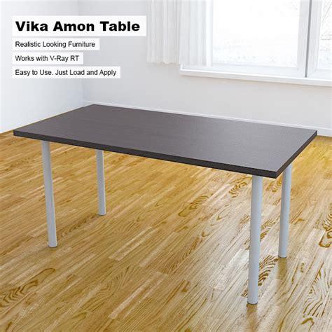 Vika Amon Desk by Vika Amon Table By Arquitectostyles 3docean