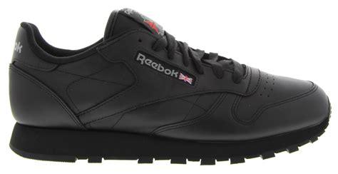 Reebok Classic Black Original reebok classic leather reebok classics in black