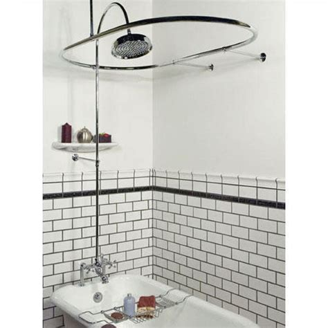 bathtub shower curtain rod choose clawfoot tub shower curtain rod cablecarchic