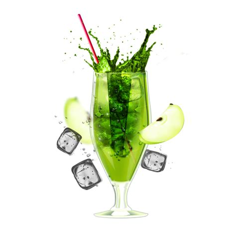 green cocktail png cocktail png image png mart