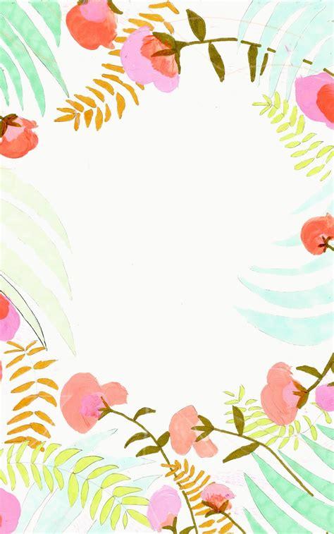 design love fest iphone case 絵の具で描かれた雰囲気のアートなお花の壁紙 お花フラワー柄 かわいい スマホ用iphoneホーム画面 待ち受け