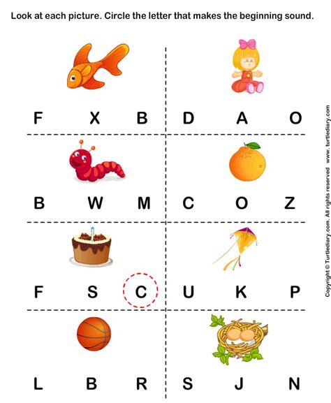 Letter Sound Worksheets For Pre K by Pre K Phonics Worksheets
