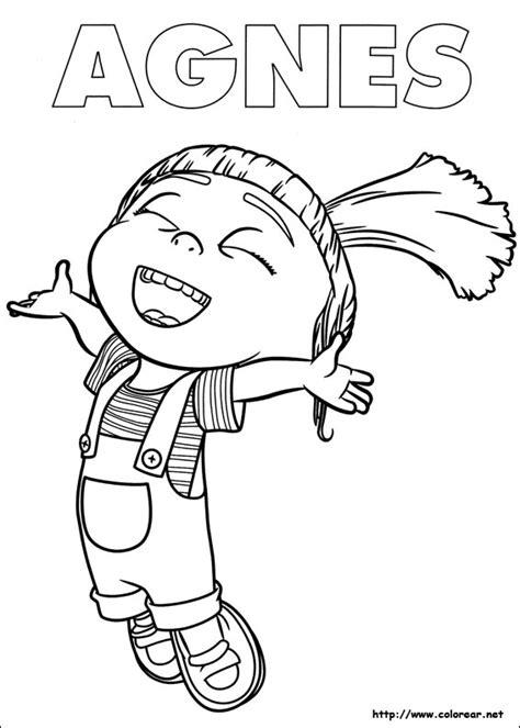agnes unicorn coloring page 56 dibujos de minions para descargar gratis imprimir y