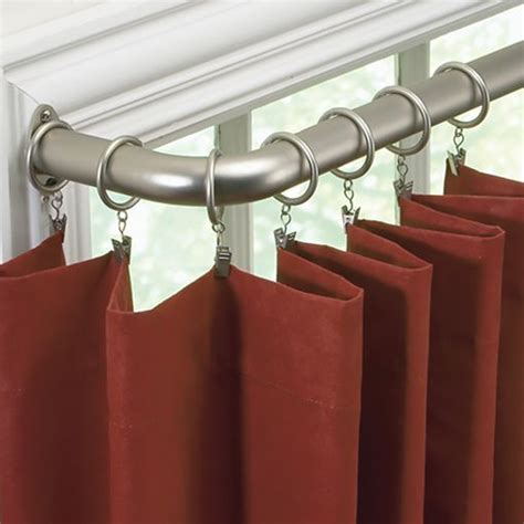 return curtain rods 17 best ideas about curved curtain rod on pinterest