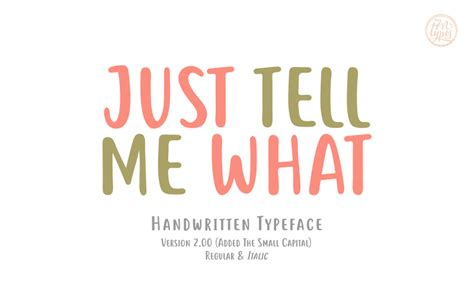 Dafont Just Tell Me What | just tell me what font dafont com