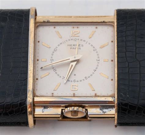 1930s herm 232 s ermeto eight day alarm travel desk clock produced by movado at 1stdibs