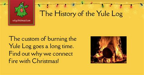 yule log christmas customs  traditions whychristmascom
