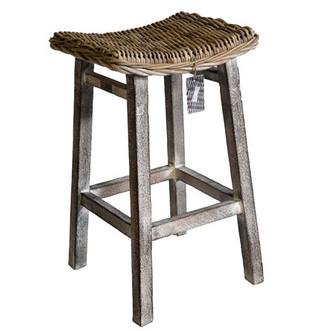 kitchen stool with mango wood roudham trading