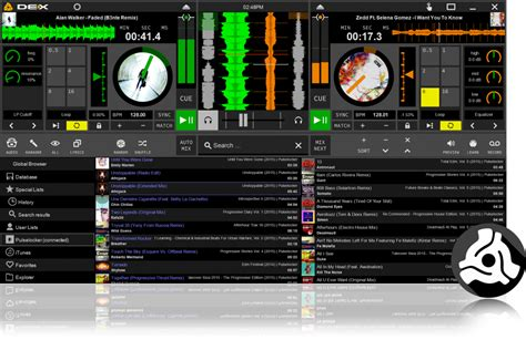 dj mixer software free download for pc full version 2015 free dj software introducing dex 3 le limited edition