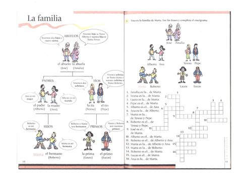 imagenes sobre la familia en ingles level 1 lesson 6 vamos let s learn spanish