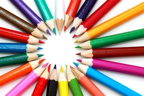 with colored pencils colored pencils free stock photo colored pencils in a