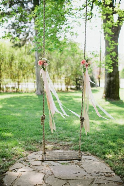 swing wedding 21 times we fell in love with the floral tree swing