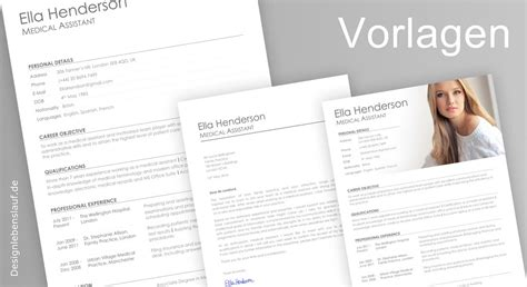 Amerikanischer Lebenslauf Vorlage Englisch Resume Builder For Word And Openoffice With Cover Letter
