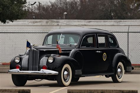 Opulent Company 1941 Packard Custom Super 8 Touring L Barrett Jackson
