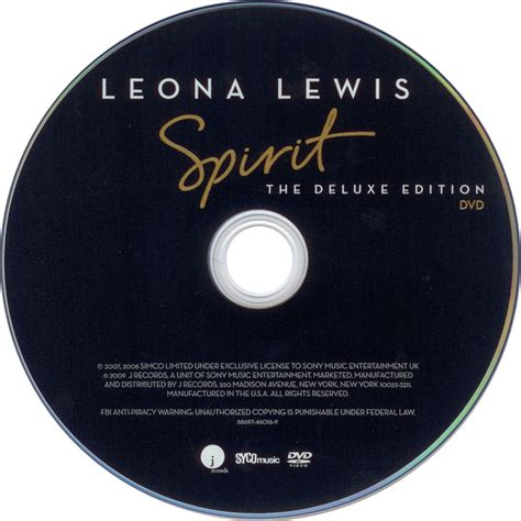 Cd Spirit Deluxe Edition Bonus Dvd Leona Lewis car 225 tula dvd de leona lewis spirit the deluxe edition portada