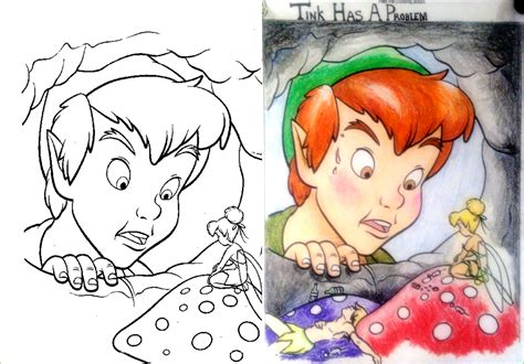 coloring book corruptions disney guest post tink s weakness coloring book corruptions