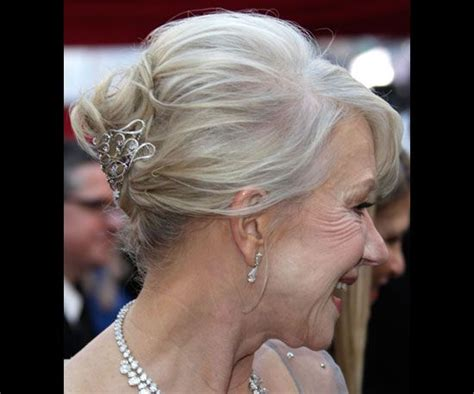 grandmothers hair style helen mirren mothers updo and grandmothers