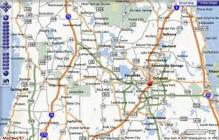Orlando Highway Map by Orlando Area Map