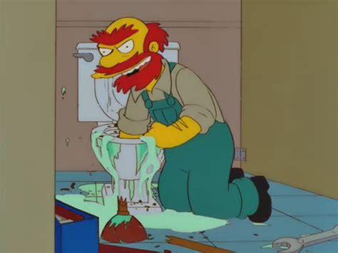 Simpsons Plumbing by Laburar O Taringuear Esa Es La Cuestion Papa Taringa