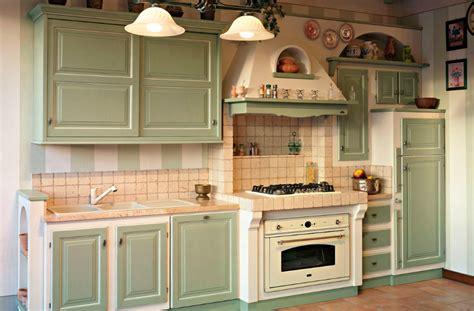 cucina country verde cucina country verde le migliori idee di design per la