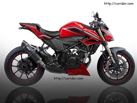 Konsep Modifikasi Motor by Konsep Modifikasi Honda New Cb150r Streetfighter Cxrider