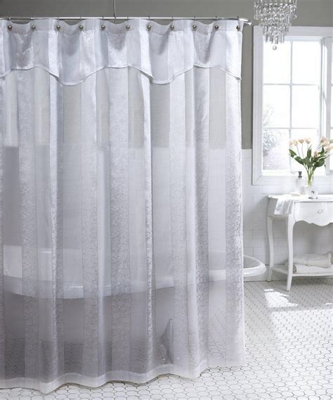 Lace Shower Curtains Refacing Country Bathroom With Decorative Lace Sheer Shower Curtains And Toto Hexagon