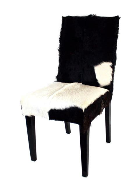 stuhl mit fell stuhl kitzb 252 hel mit echtem fellbezug der tischonkel