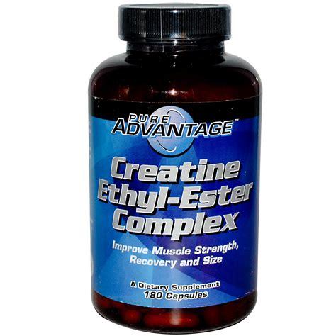 8 creatine clear advantage creatine ethyl ester complex 180 capsules
