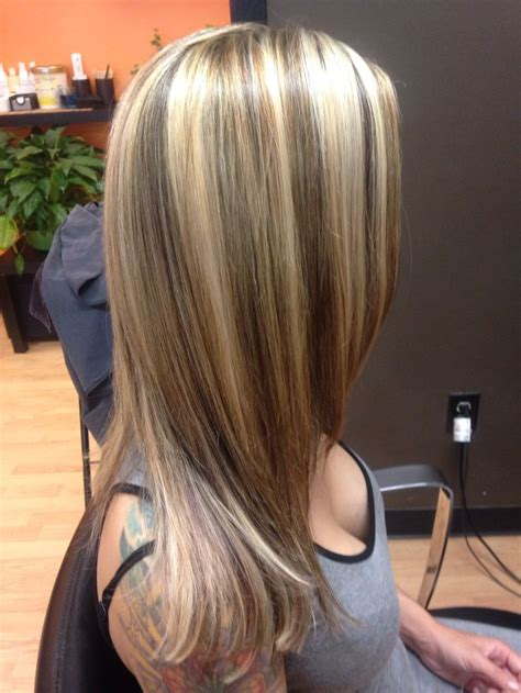 styles of hair that are chunked 17 best ideas about chunky blonde highlights on pinterest