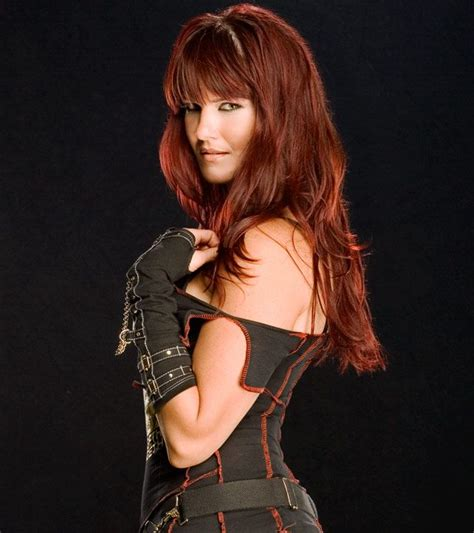 what hair extensions do the wwe divas we another bangs idea i always loved lita from the wwe s