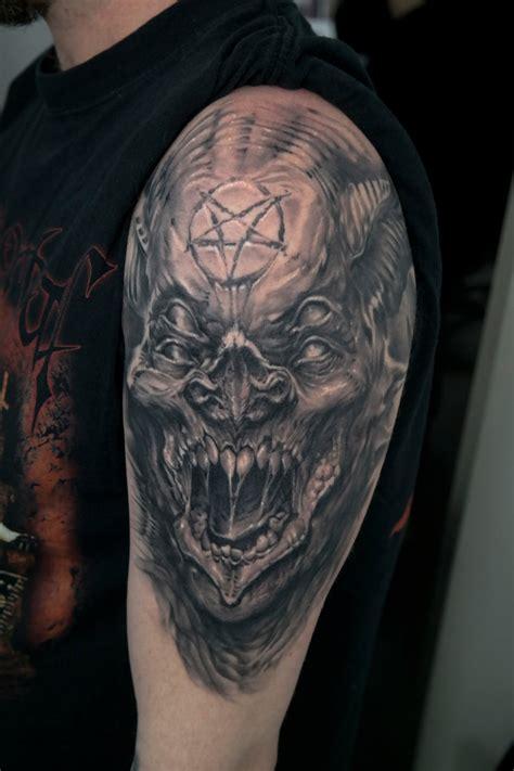 evil bat demon tattoo healed by edgarivanov on deviantart