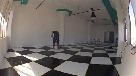 checker board floor youtube
