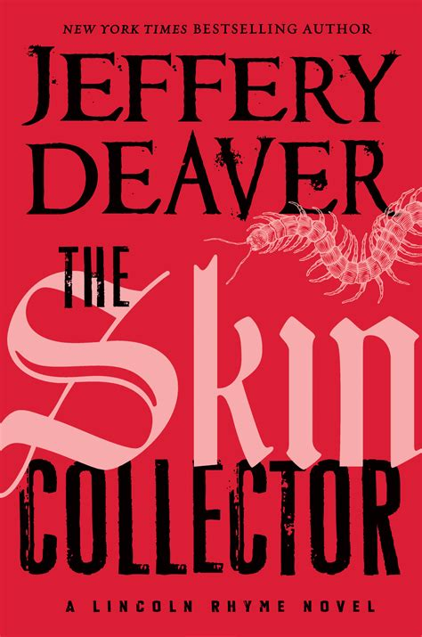 the burial hour a lincoln rhyme novel books the skin collector available now in paperback jeffery