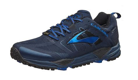 s cascadia 11 gtx waterproof trail running shoes dress blue 110230 ebay