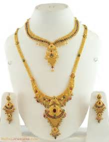 bridal gold sets the images of gold bridal necklace designs hijabiworld