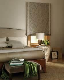 bedroom shades hunter douglas design studio flat roman shade with banding