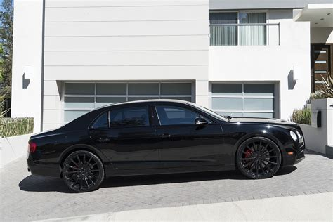 Murdered Out Bentley Spotlight Murdered Out Bentley Flying Spur