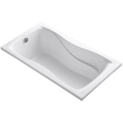 60 x 32 bathtub kohler hourglass 60 quot x 32 quot soaking bathtub wayfair