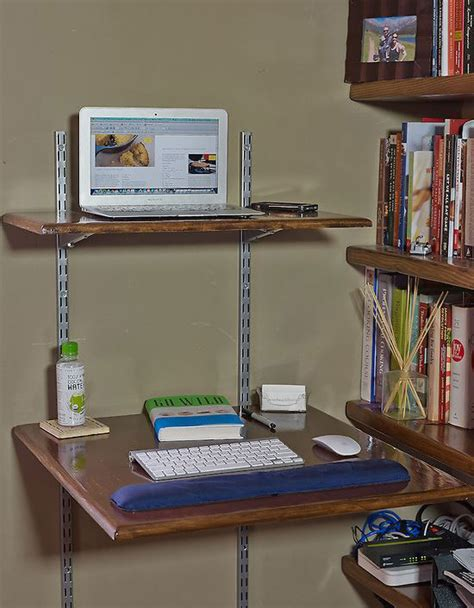 use a stand up desk to boost your health diy
