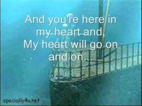 film titanic song lyrics titanic song lyrics