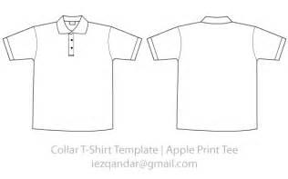 Collar T Shirt Template Psd by Collar Template Vector Free Vector