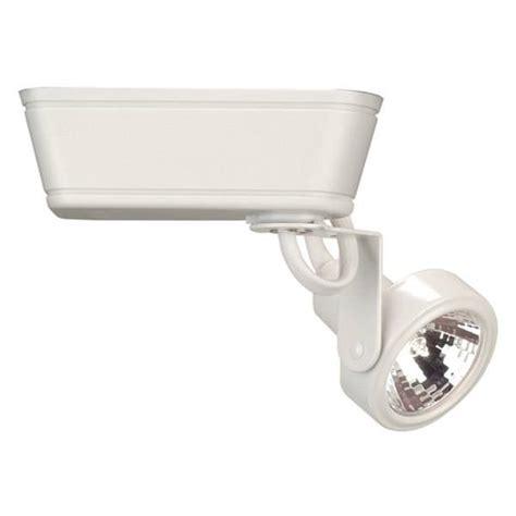 Wac Lighting 01605 Low Voltage Mr 16 White Track Head Wac Lighting Fixtures