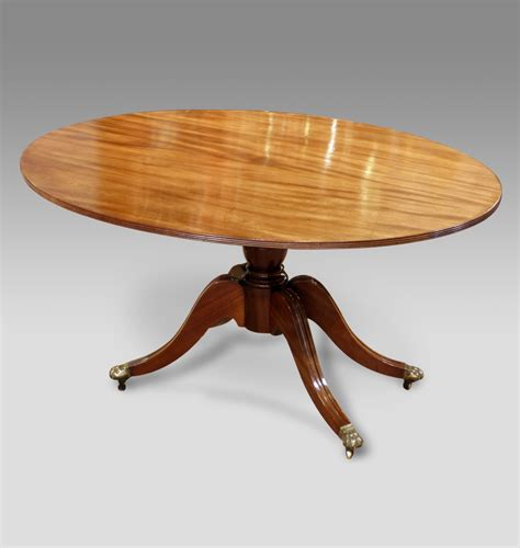 Breakfast Table by Antique Oval Breakfast Table Regency Breakfast Table