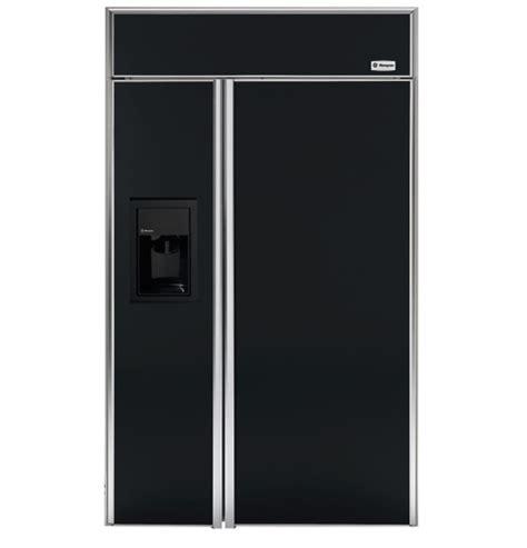 48 inch ge monogram refrigerator zisb480dr ge monogram 174 48 quot built in side by side