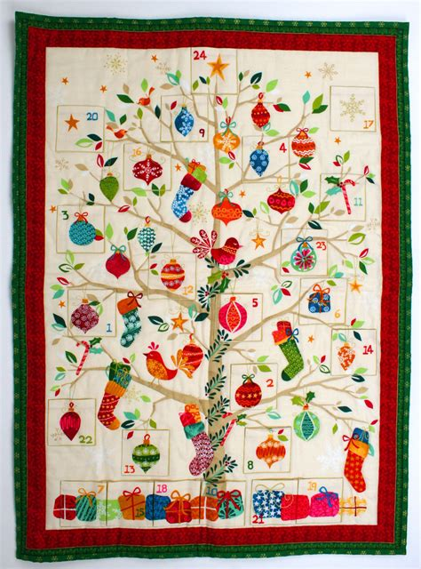 make an advent calendar how to make a patchwork advent calendar hobbycraft
