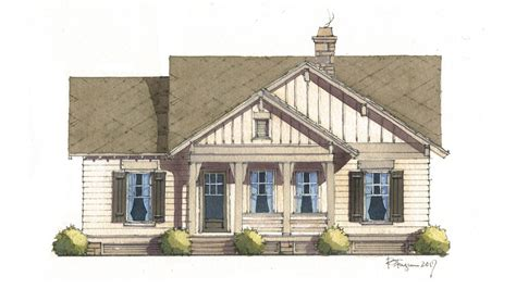 Flint Cottage Southern Living House Plans | flint cottage southern living house plans