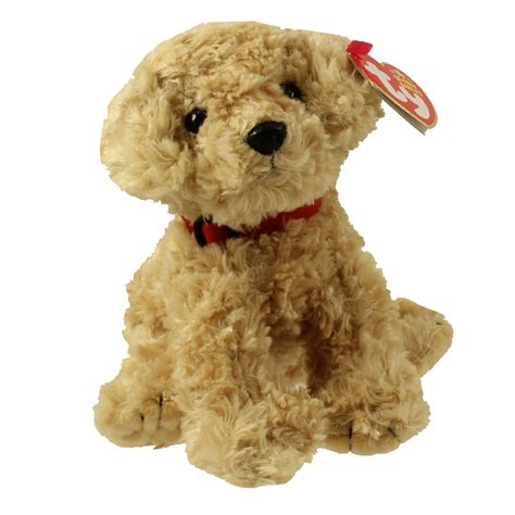 beanie baby puppy ty beanie baby dooley the retriever 6 5 inch bbtoystore toys plush